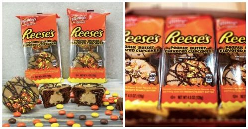 Mrs Freshley's Deluxe Reese's Peanut Butter Cupcakes 4.5oz (127g) (US)